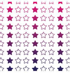 line stars sky decoration background design vector image vector image