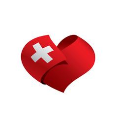 Switzerland flag vector