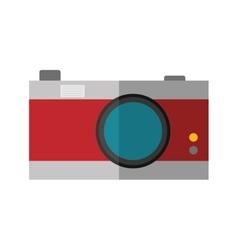 Camera icon retro gadget design graphic vector