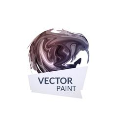 Abstract digital watercolor ink virtual technology vector image vector image