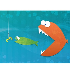 food chain vector image vector image