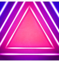 Geometric Background With Triangle vector image