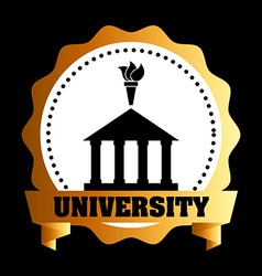 university concept vector image