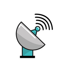 Internet web service connection icon vector