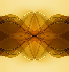 Abstract background with brown lines vector
