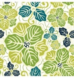 Beautiful flower seamless pattern vector