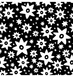 Abstract seamless pattern in vector image vector image