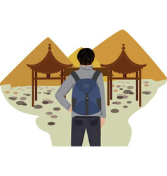 ethnotourism vector image vector image
