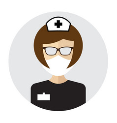 medical specialist avatar vector image
