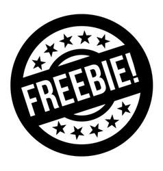 Freebie stamp typographic stamp vector