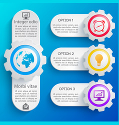 abstract business web design banners set vector image