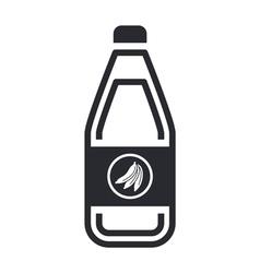 banana juice icon vector image vector image