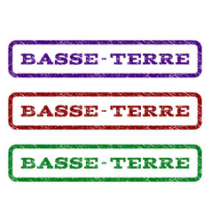 Basse-terre watermark stamp vector