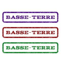 Basse-terre watermark stamp vector