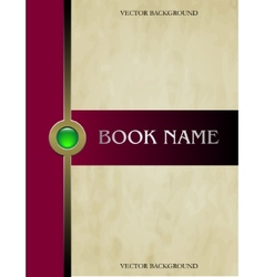 Cover book vector