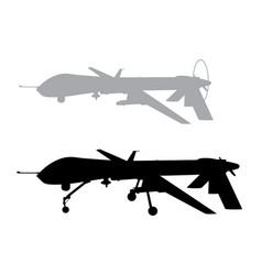weapon drones vector image vector image