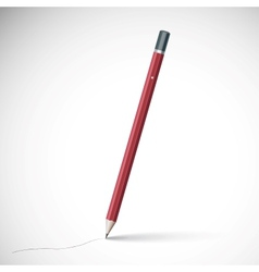 Pencil isolated on pure white background vector
