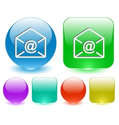 -mail at-sign vector