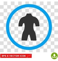 Body eps rounded icon vector