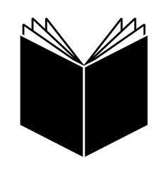 book text school icon vector image vector image