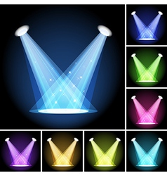 Stage light vector image vector image