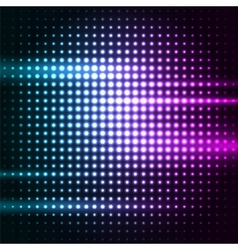 Abstract colorful disco background vector image
