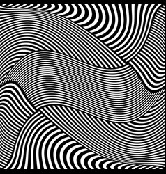 Striped lines pattern vector