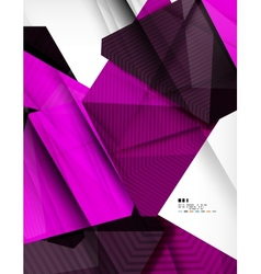 Corporate abstract business template vector