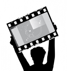 film vector image