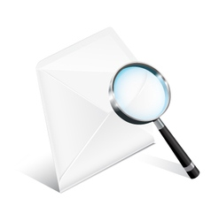 Business Mail Icon vector image