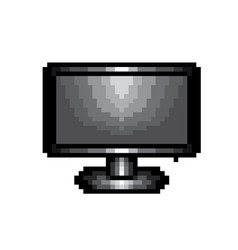 Monitor screen pixel icon in the eps 8 format vector