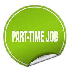 Part-time job vector