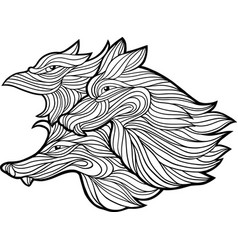 Wolves vector