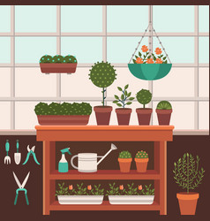 A greenhouse vector
