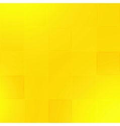 Abstract yellow geometric paper background vector