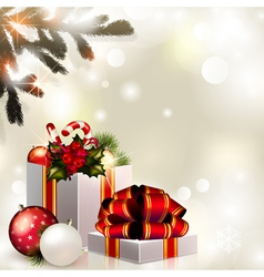 Christmas composition vector