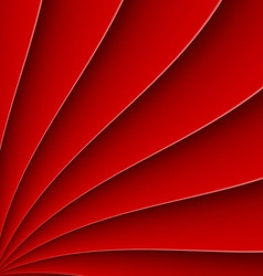 Fan background pattern vector image