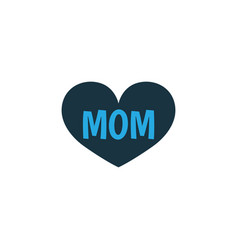 mom colorful icon symbol premium quality isolated vector image vector image