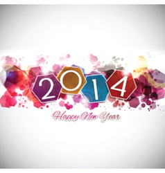 Happy new year background 2409 vector