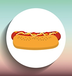 Delicious food design vector