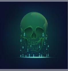 deadlyvirus vector image