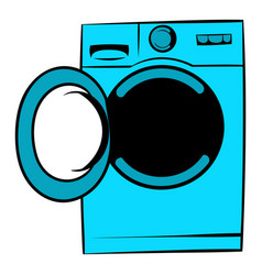 Washing machine icon icon cartoon vector