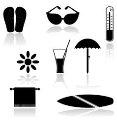Set of icons EPS10 vector image