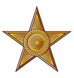 Star - medal vector