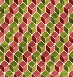 funky retro seamless pattern vector image