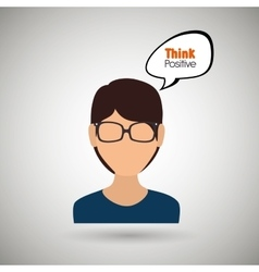 People thinking design vector