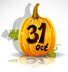 Halloween October 31 Background vector image