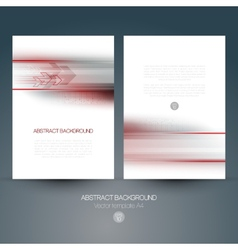 abstract technology background with lines vector image vector image