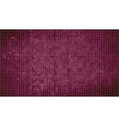 Burgundy abstract mosaic background vector