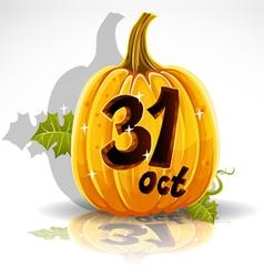 Halloween October 31 Background vector image vector image